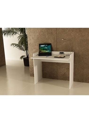 Sanal Mobilya Sirius Çalışma Masası 93 Cm Beyaz